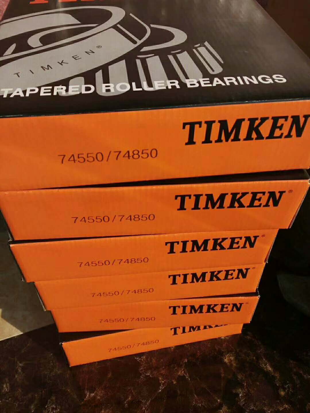 TIMKEN brand inch tapered roller bearings 74550 74850 with single row