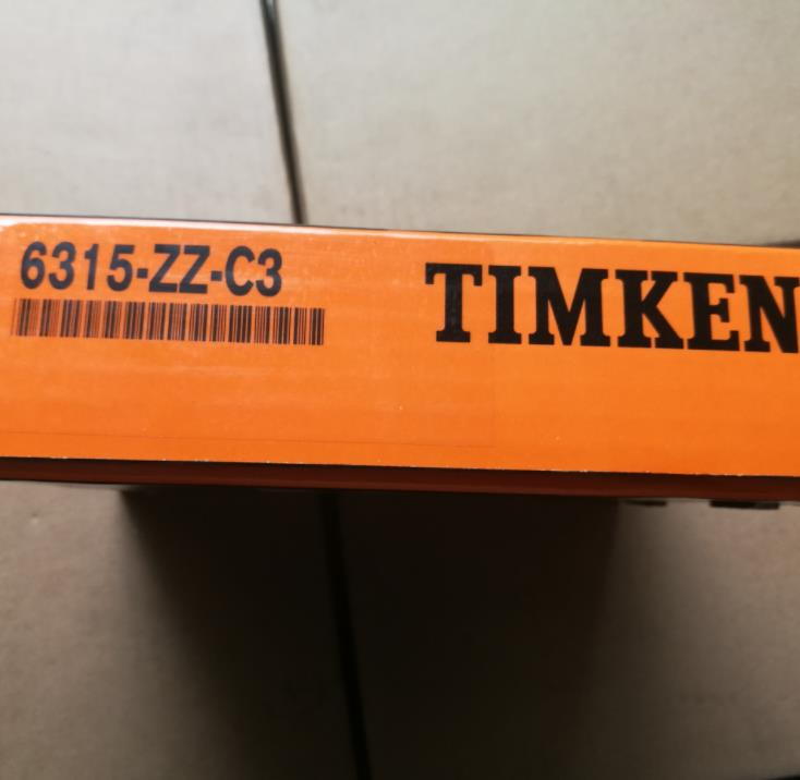 TIMKEN 6315-ZZ C3 genuine imported bearings deep groove ball high speed genuine bearing wholesale