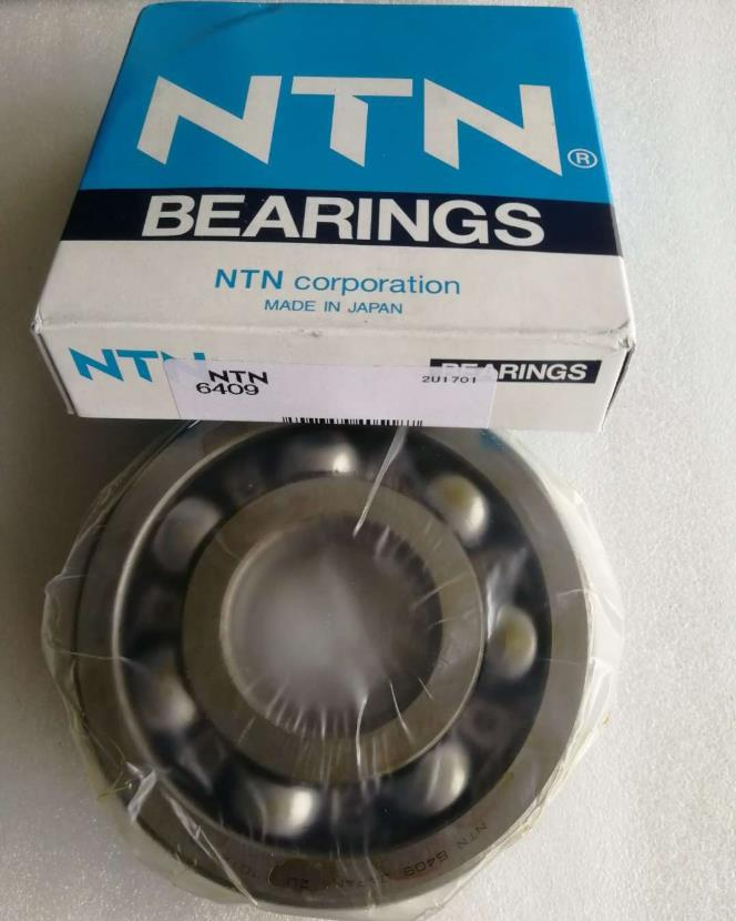 Original Good Quality NTN Bearing Chrome Steel Electric Machinery 45x120x29 mm Deep Groove Ball NTN 6409 ZZ 2RS