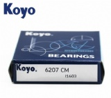 6207 ZZ 2RS deep groove ball bearings Japan KOYO bearings imported precision deep groove ball bearings