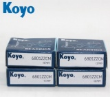 High speed koyo open deep groove ball bearing water pump bearing 6801 2rs 2Z open type