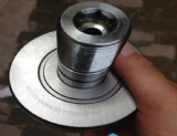 Machinery Special Used Stud type Full complement track rollers bearings INA NUKR90-A