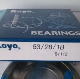 KOYO Deep groove ball bearing 63-28 C3 original non-standard bearing motorcycle bearing 25*62*24mm