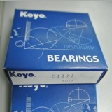 Original KOYO Bearing Thrust ball bearing KOYO Japan 51111 bearing 55*78*16